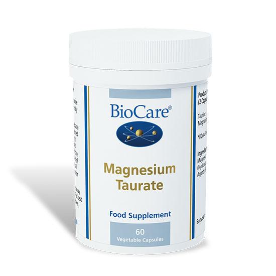 bioCare magnesium taurate 60 cpsules