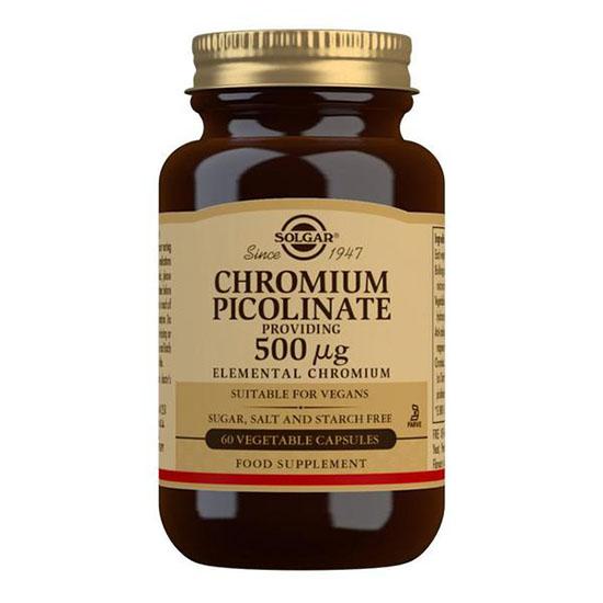 solgar chromium picolinate 500 mg 50 capsules
