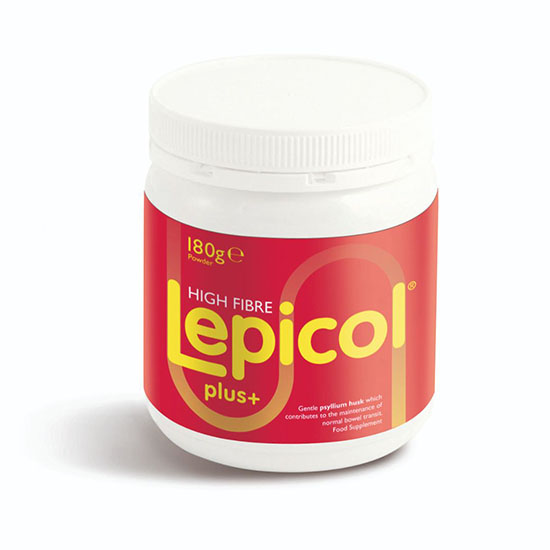 lepicol plus high fibre 180g