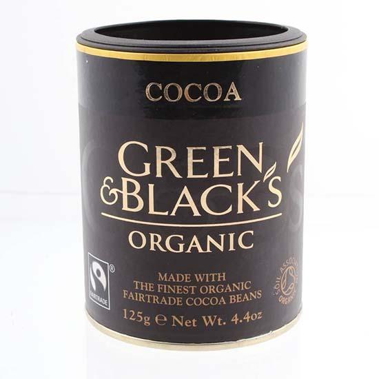 Green and Blacks organic Cocoa 125g