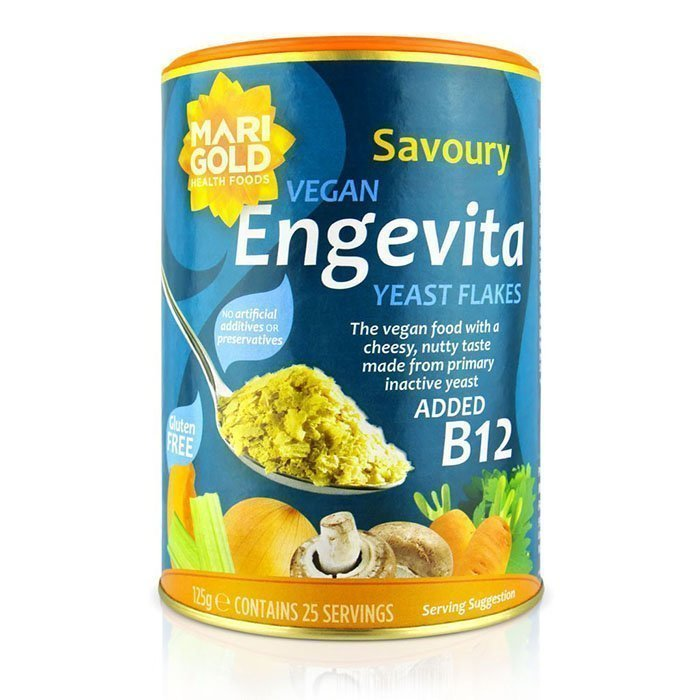 engevita nutritional yeast flakes with added b12