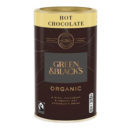 green and blacks hot chocolate copy