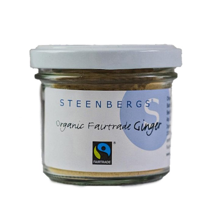 Steenburgs organic fair-trade ginger powder