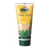 aloe pura organic sun lotion spf 25