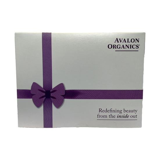 avalon organics refining beauty gift set