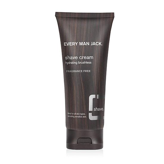 everyman jack body shave cream sensitive skin 200ml
