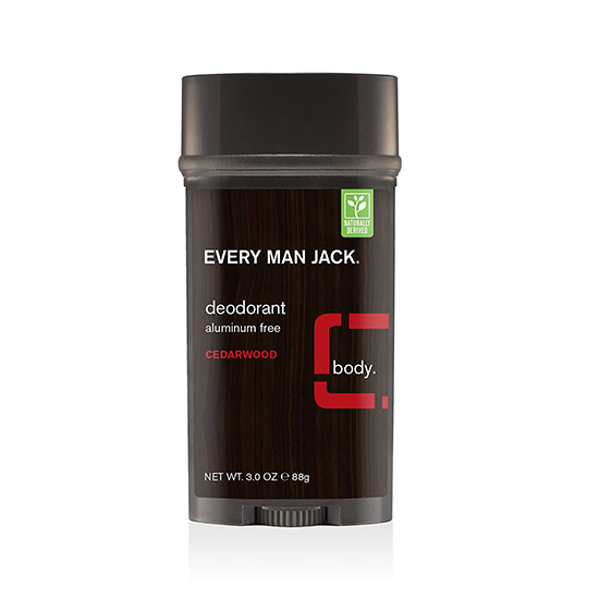 everyman jack cedarwood deodorant 85g