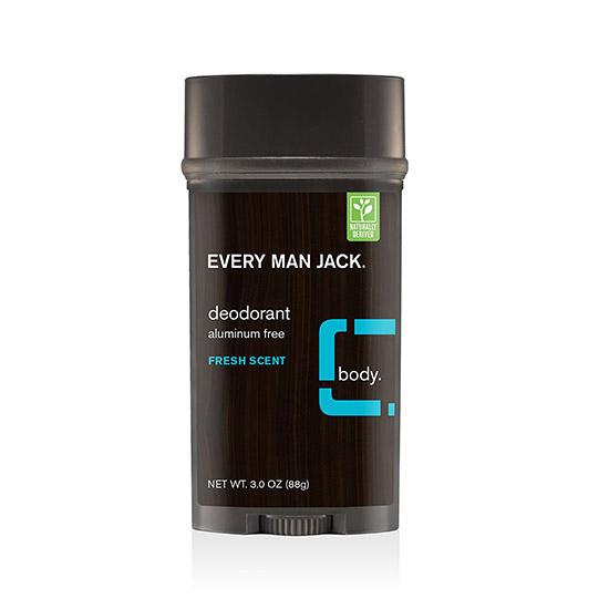 everyman jack fresh scent deodorant 85g