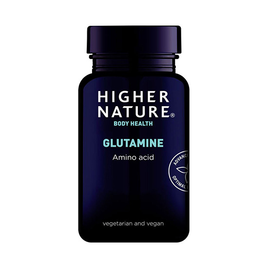 higher nature glutamine capsules 90 caps