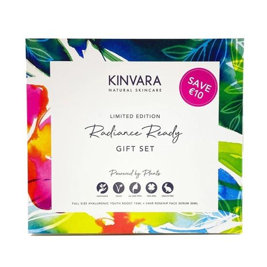 kinvara natural radiance gift set