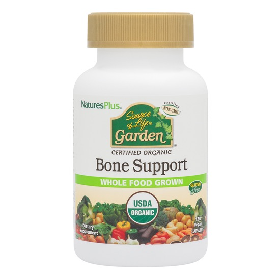 natures plus source of life garden bone support 120 caps