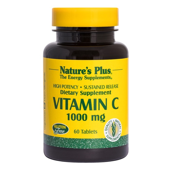natures plus vitamin c 100mg 60 tablets