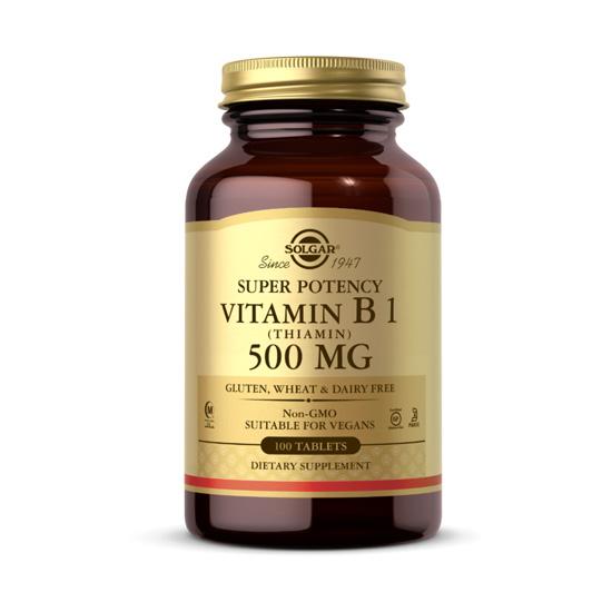 solagr vitamin b1 500mg 100 tablets