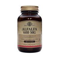 solgar alfalfa 600mg 100 tablets