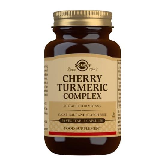 solgar cherry turmeric complex 60 capsules