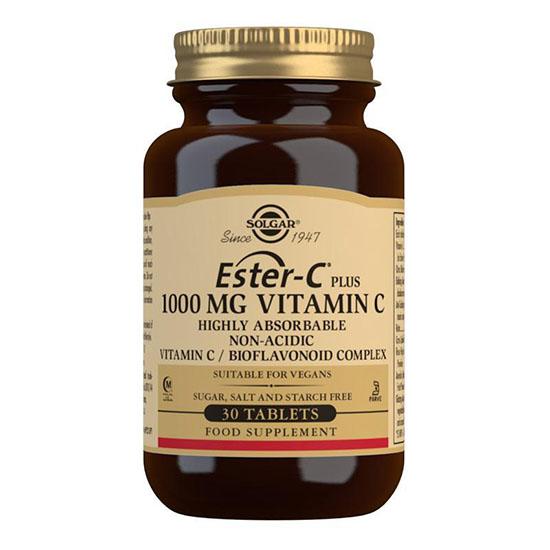 solgar ester c 1000 mg 30 tablets