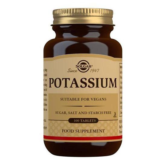 solgar pottasium 100 tablets