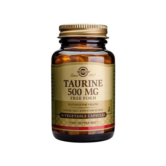solgar taurine 500mg 50 capsules 1