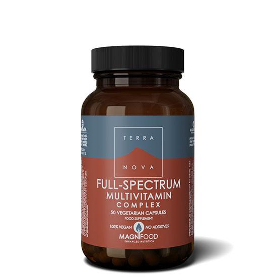 terranova full spectrum multi vitamin 50 capsules