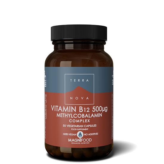 terranova vitamin b12 50 capsules