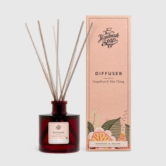 the hand made soap company diffuser grapefruit and may chang jpg