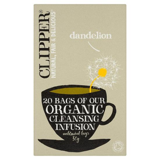 clipper organic dandelion tea 20 bags 1