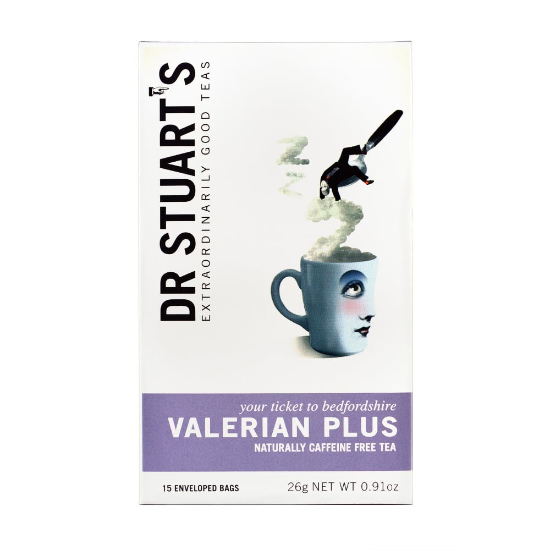 dr stuart s valerian plus tea 20 bags 1