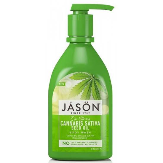 jason cannabis sativa seed oil body wash 887 ml 1