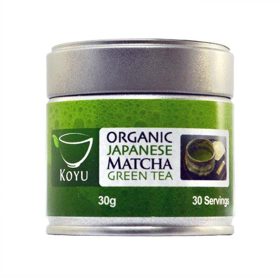 koyu matcha original japanese green tea 30g