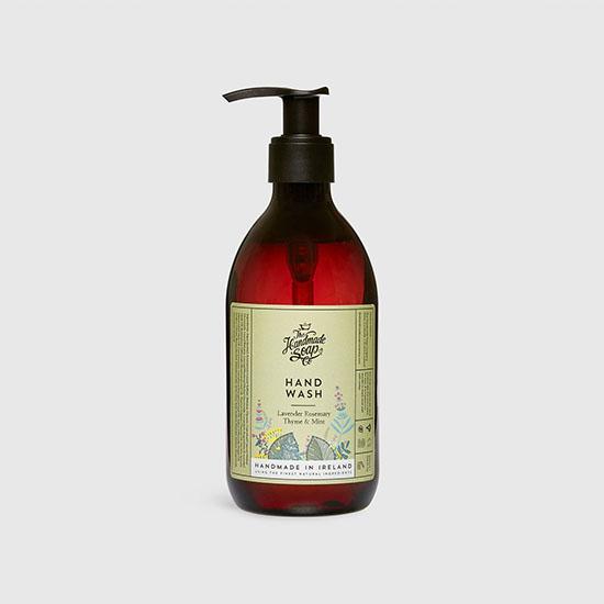the handmade soap company hand wash lavender rosemery thyme mint