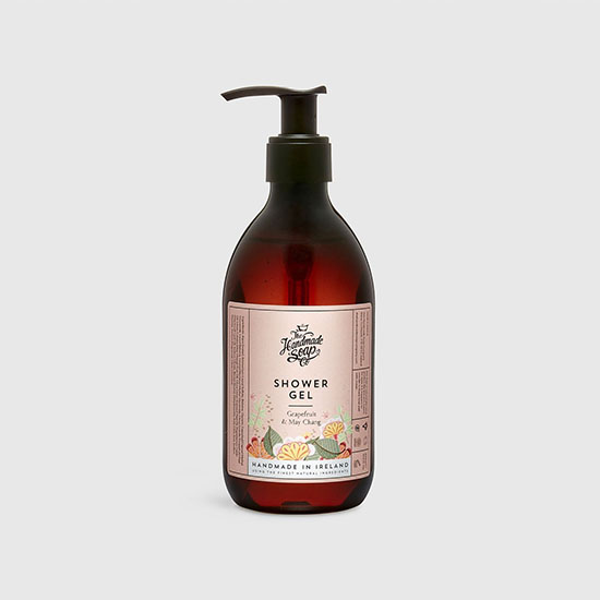 the handmade soap company shower gel grapefruit and may chang
