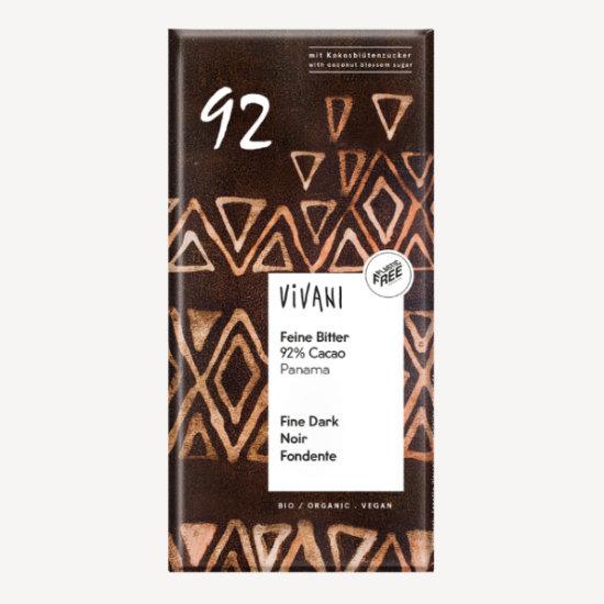 vivani feine bitter 92 percent cacao 1