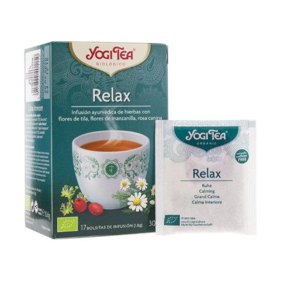 yogi tea relax 17 bags