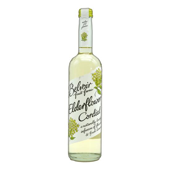 Belvoir organic elderflower cordial