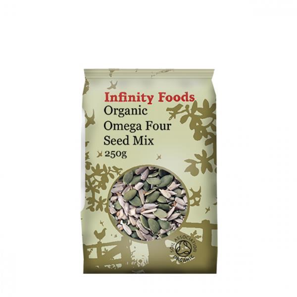 Infinity organic omega seed mix 250 g
