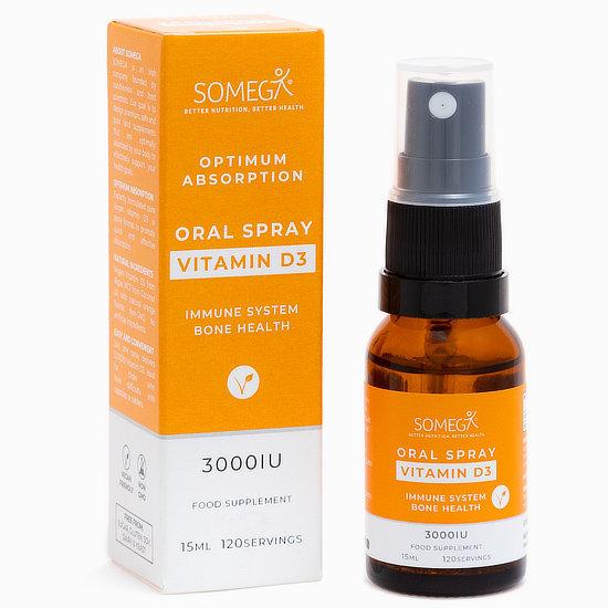 Somega Vitamin D Oral Spray 15ml