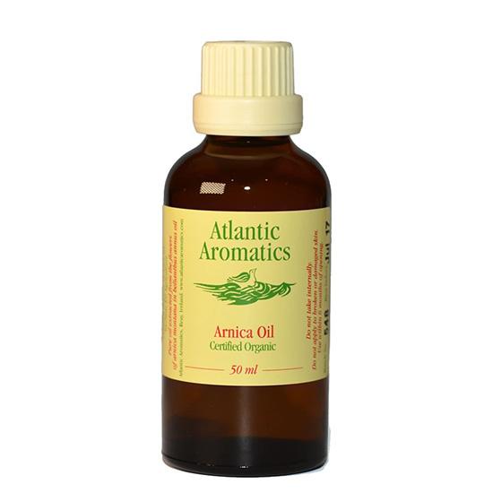 atlantic aromactics organic arnica oil 50ml