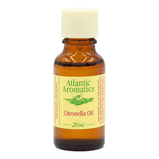 atlantic aromatics organic citronella oil 20ml