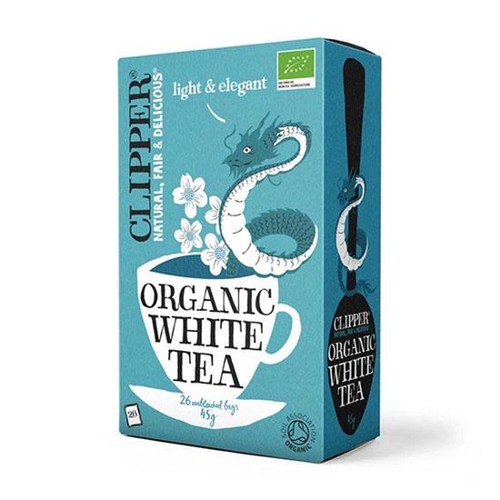 clipper organic white tea