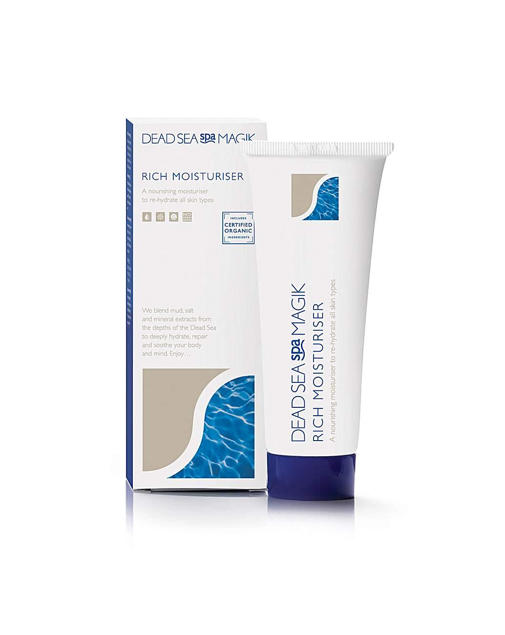 dead sea spa magic rich moisturiser 75 ml