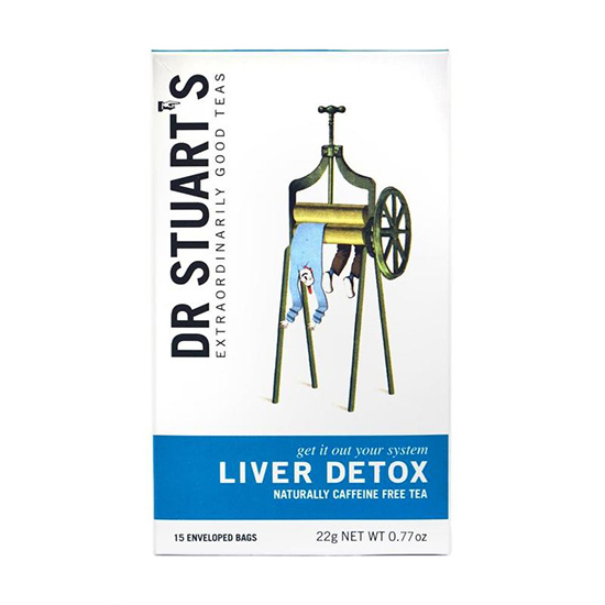 dr stuart s liver detox tea 15 tea bags