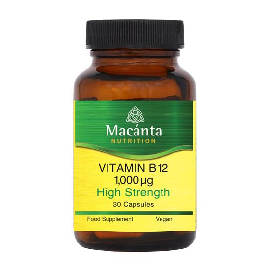 macanta vitamin b12 1000ug 30 capsules