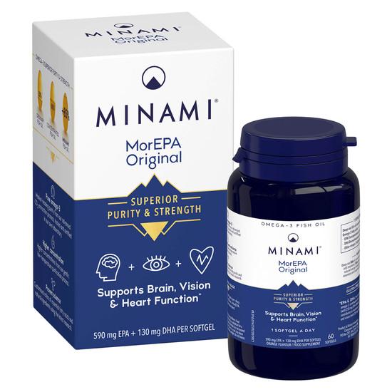 minami morepa original omega 3 60 capsules