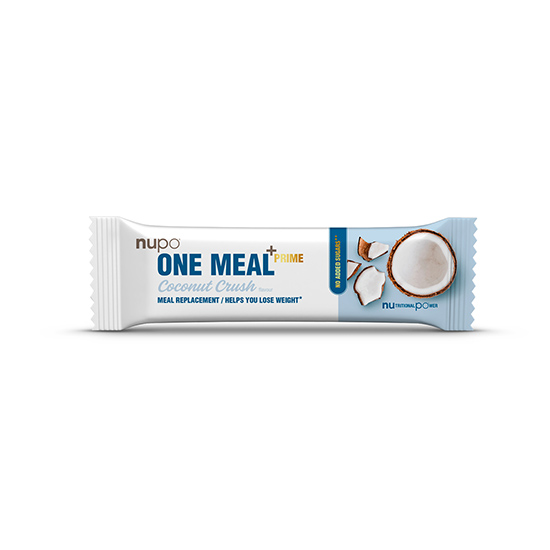 nupo one meal coconut crush bar