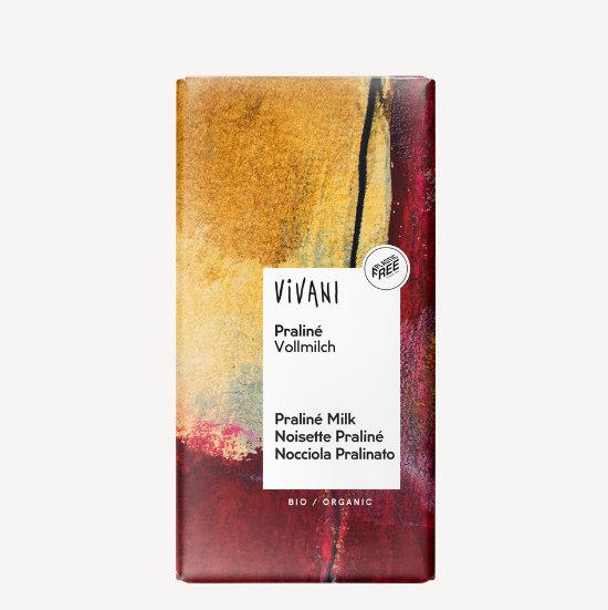 vivani praline milk chocolate