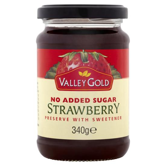 Valley Gold Strawberry Jam 340g