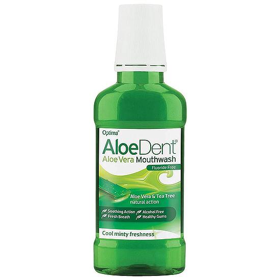 aloedent aloe vera mouthwash flouride free