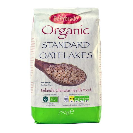 ballybrado organic standard oatflakes 750g
