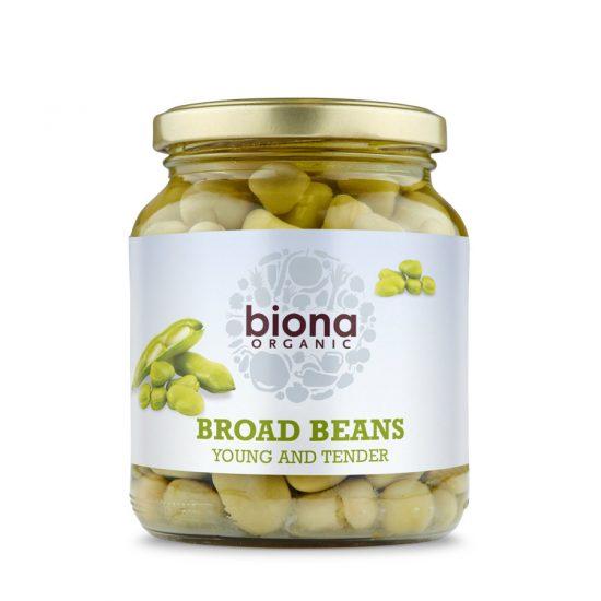biona organic broad beans 350g