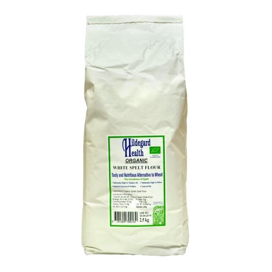 hildegard health organic white spelt flour 2.5kg 3